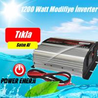 1200 Watt 12/24  Volt  Modifiye Sinüs İnverter Fiyatı