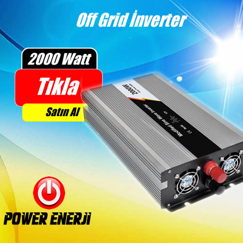 2000 Watt 12 Volt Modifiye Sinus İnverter Fiyatı