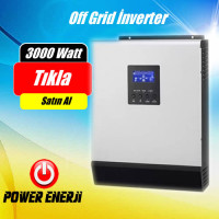 3 kVA Lexron 3000watt 24 Volt Tam Sinus Akıllı İnverter Fiyatı