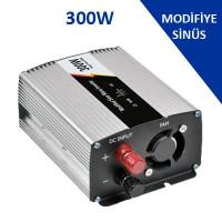 300 Watt 12 Volt Modifiye Sinus İnverter Fiyatı