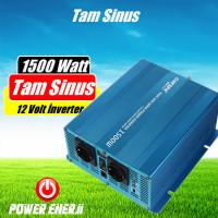 1500 Watt 12 Volt Tam Sinus İnverter Fiyatı Özellikleri Neleri Çalıştırır?