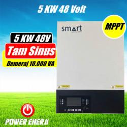 5KW 48 Volt Tam Sinus Akıllı 150-450V MPPT İnverter Özellikleri Fiyatı Neleri Çalıştırır?