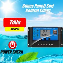 Güneş Paneli Akü Şarj Kontrol Cihazı 30 Amper