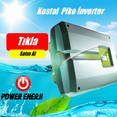 KOSTAL İnverter PIKO 5.5 Trifaz On Grid İnverter Fiyatları