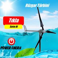1 kw 1000 Watt Rüzgar Türbini