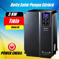 3 Kw Delta Solar Pompa Sürücü İnverteri Fiyatı