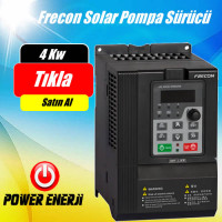 4 kW Frecon Güneş Enerjili Tarımsal Sulama Solar Pompa Sürücü İnverteri Fiyatı