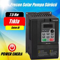 7.5 kW Trifaze (380 Volt) Frecon Güneş Enerjili Tarımsal Sulama Solar Pompa Sürücü İnverteri Fiyatı