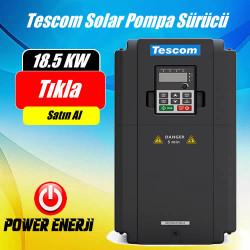 18.5 Kw (25 Hp Beygir) Tescom Solar Pompa Sürücü İnverteri Fiyatı