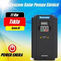 15 HP 11 kW  TESCOM Güneş Enerjili Tarımsal Sulama Solar Pompa Sürücü İnverteri