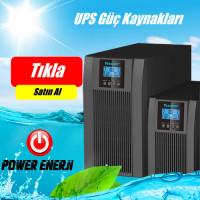 6 kVA On-line UPS, Tam Yükte 11 dk Besleme TESCOM
