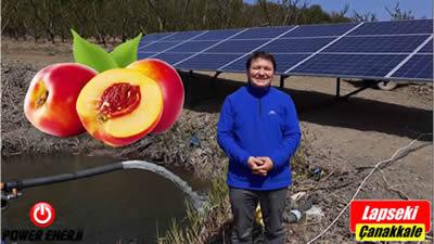 Güneş Enerjili Sulama Sistemi 5.5 Beygir Pompa Tarla Sulama Sistemi