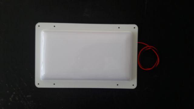 12V DC Büyük Aplik Beyaz 40watt Led Aydınlatma