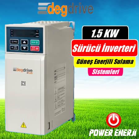 1.5 Kw Deg Drive Sürücü İnverteri Fiyatı Güneş Enerjili Sulama Sürücüsü
