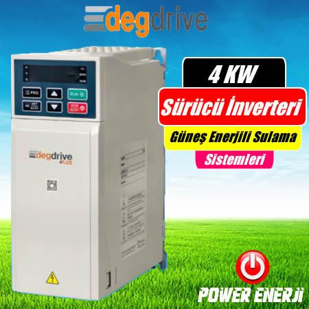 4 Kw Deg Drive Sürücü İnverteri Fiyatı Güneş Enerjili Sulama Sürücüsü