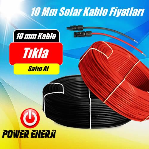 10mm solar kablo fiyat
