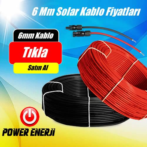 6mm solar kablo fiyat