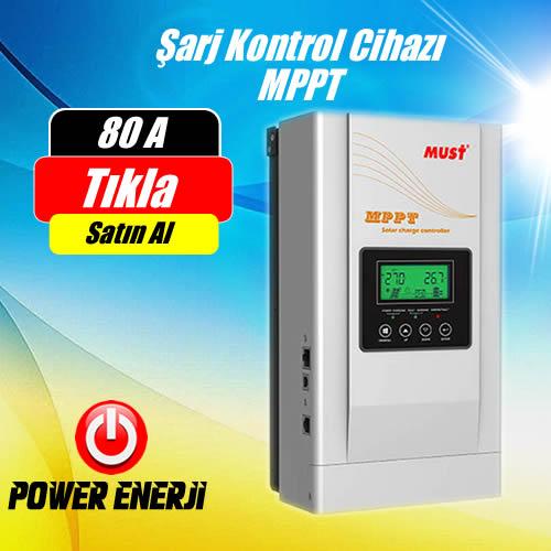 80A (Amper) MPPT Güneş Paneli Şarj Kontrol Cihazı Fiyatı