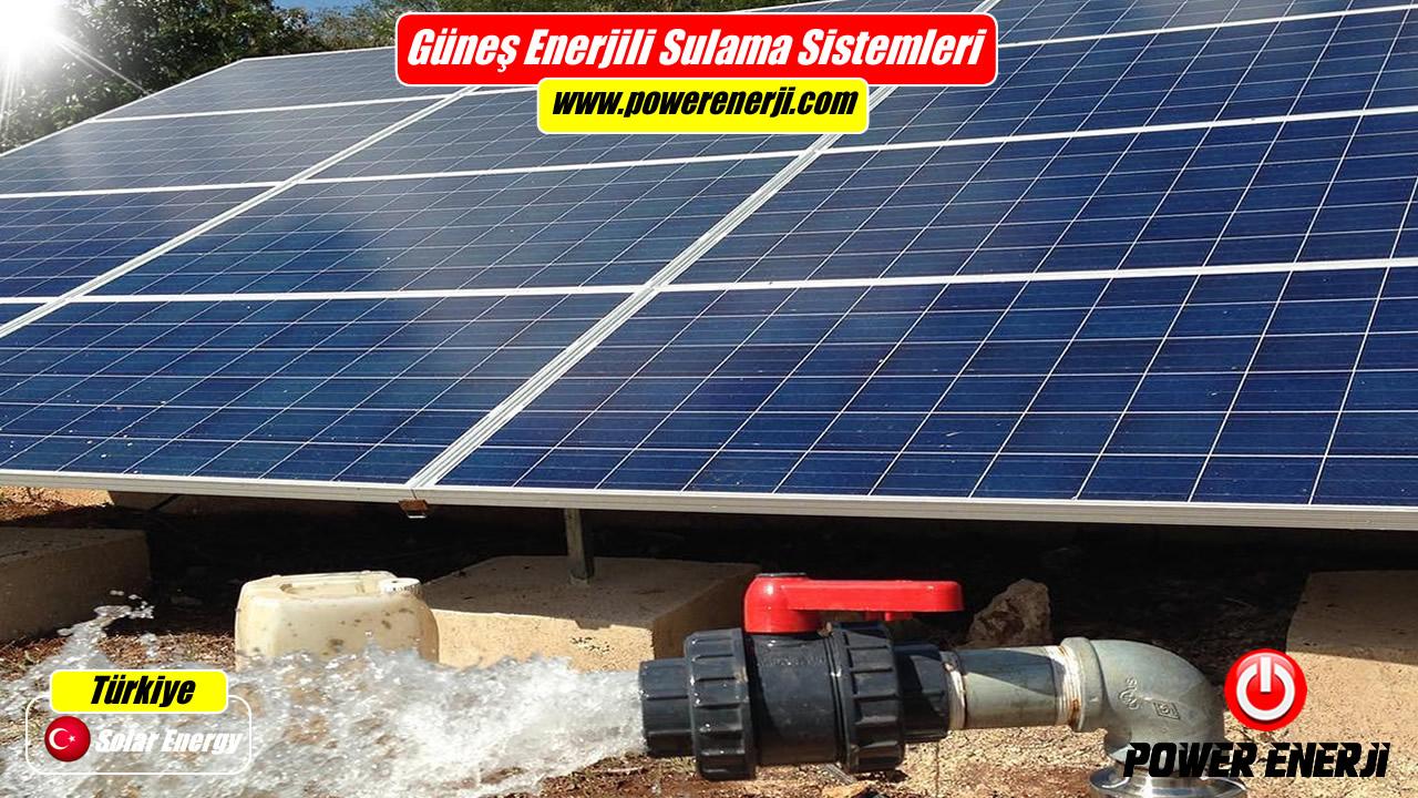 güneş enerjili sulama sistemi fiyatı