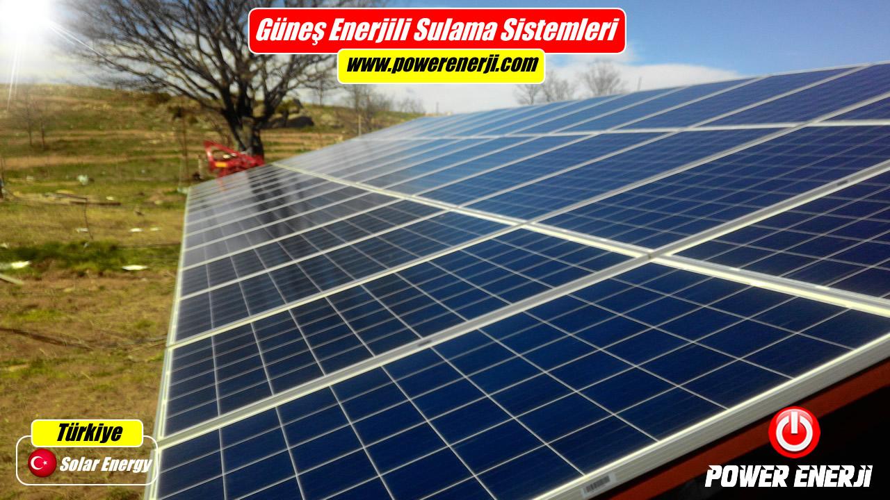 20 Hp Sulama Pompası Güneş Paneli (20 Hp 15kw 380volt Trifaze)